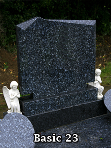 Basic Headstones by Nolan Stoneworks