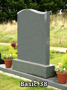 Basic Headstones by Nolan Stoneworks