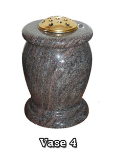 Grave Side Vase from Nolan Stoneworks