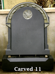 Carved Headstones by Nolan Stoneworks